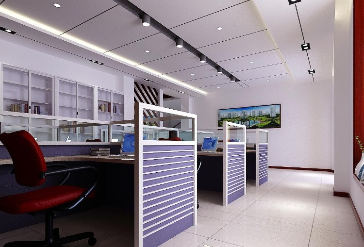 小型办公室装修设计效果图