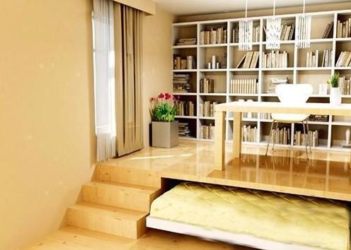 书房与客房并用的完美结合方案