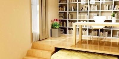 書房與客房并用的完美結合方案