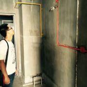龙湖世纪水电改造现场施工图