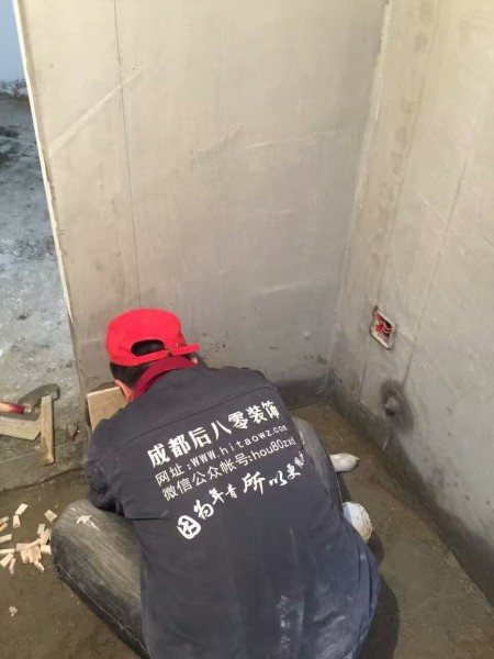成都装修公司施工现场-11