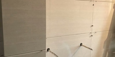 成都装修贴砖工艺现场施工图