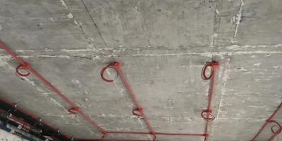成都中德英伦世邦水电改造装修图