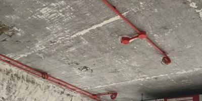 成都裝修水電改造施工現場圖