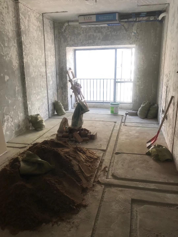 成都裝修隊在建工地施工現場圖