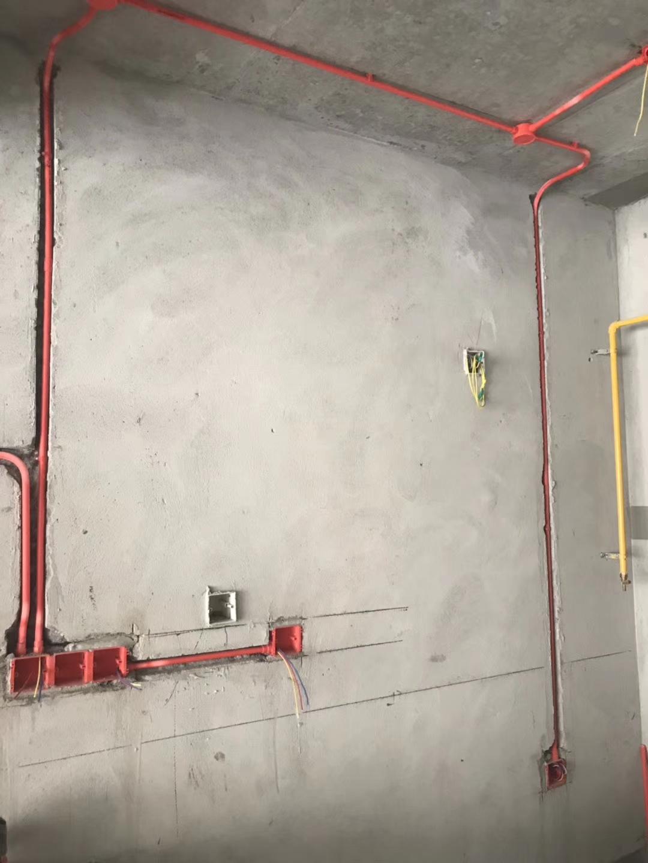 保利國賓首府水電改造現場施工圖
