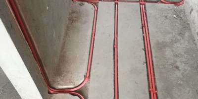 上海花园水电改造厨卫防水装修施工现场图