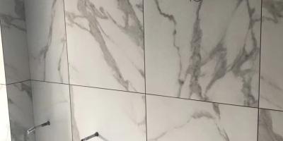 成都華潤橡樹灣120戶型裝修施工現場圖