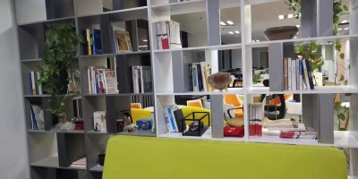 成都银海芯座办公室装修完工效果图【已交付】