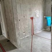 成都中南海堂集水電改造施工現場圖