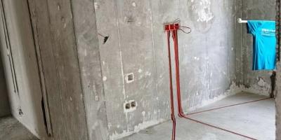 成都中南海棠集水電改造施工現場圖