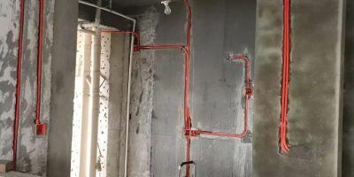 锐利领峰水电改造新建墙体改造完工图