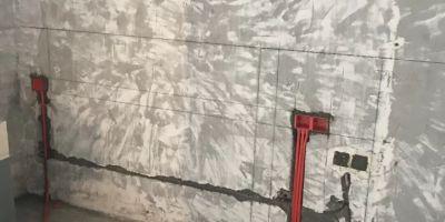 成都朗基御今缘水电改造装修施工现场图